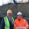 Cllr Partick Harley and Andy Street